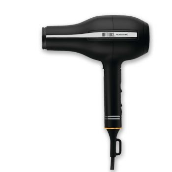 Cut hair-drying time with cutting-edge technology. This professional-quality ionic dryer makes drying a breeze.