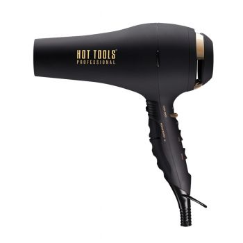 Dry hair faster and boost shine with this professional turbo ionic dryer.