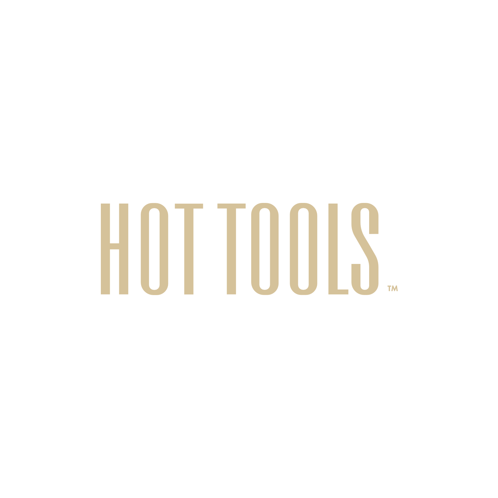 White Gold Curling Iron  1 Inch