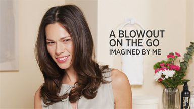 A Blowout on the Go with a Pro Signature Ionic Travel Hair Dryer