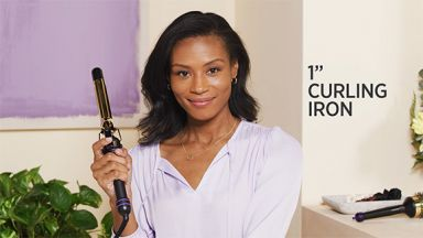 """Effortless Curls with a Pro Signature 1"""" Curling Iron"""
