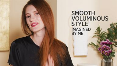 """Smooth Voluminous Style with a 24K Gold 1-1/2"""" 3-in-1 Crimper & Flat Iron Combo"""