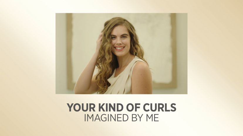 """Your Kind of Curls with Pro Artist White Gold 1-1/2"""" Digital Salon Curling Iron"""
