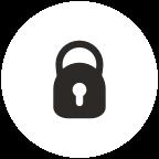 Locking/rotating main handle